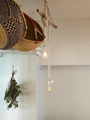 BOTANICROPESOCKETPENDATボタニックロープソケットペンダントランプ: