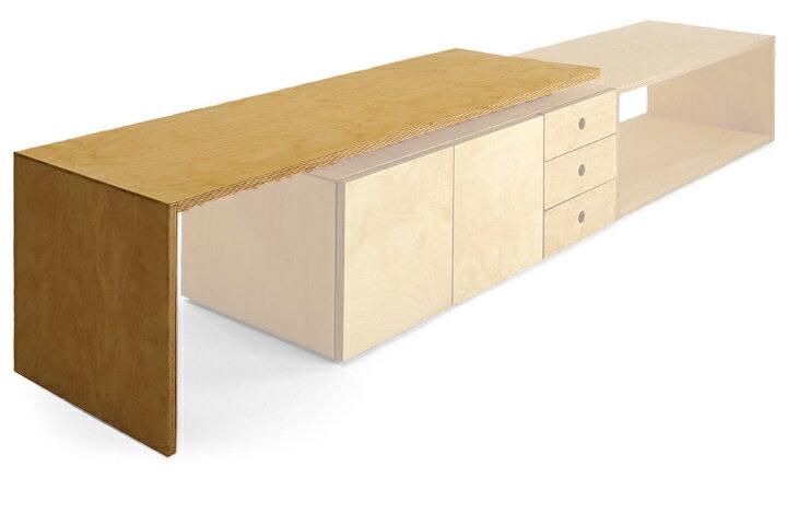 【送料無料】miyakonjo product SUMITSUBO desk natural小泉 誠デザインミヤコンジョ プロダクト スミツボ デスク【ポイント】: