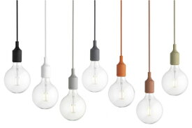 【送料無料】muuto E27 Soket Pendant Lamp北欧デザイン照明 ムート E27 ソケット ペンダント ランプ 全7色: