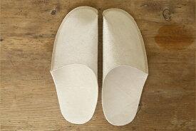 トートーニー ワンピース レザースリッパ ナチュラルtoe to knee one-piece slippers NATURAL一枚革のシンプルなレザースリッパ・革製ルームシューズ: