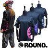 ロゴプリントTシャツ【ピンク】/ラウンドスノーボードギア/おしゃれ/かっこいい/吸汗/吸湿/速乾/UVカット/ドライ/スノーボード/スノーボード用品/ウェア/ジャケット/上着/スキー/スキー用品/オールシーズン/メンズ/レディース/目立つ/ブランド/黒/ブラック/ピンク/薄手