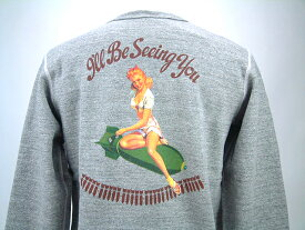"Buzz Rickson's バズリクソンズ SET IN CREW SWEAT SHIRTSU.S.ARMY AIR FORCESGIL ELVGREN COLLECTION""I'll Be Seeing You""BR67796送料無料 【smtb-TK】"
