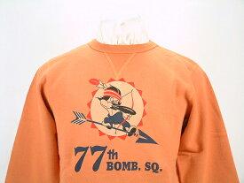 "Buzz Rickson's バズリクソンズ SET IN CREW SWEAT SHIRTS""77th BOMB.SQ.""BR67212送料無料 【smtb-TK】"