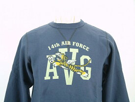 """Buzz Rickson's バズリクソンズ SET IN CREW SWEAT SHIRTS14th AIR FORCE""""FLYING TIGERS""""送料無料 【smtb-TK】"""