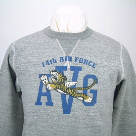 """Buzz Rickson's バズリクソンズ SET IN CREW SWEAT SHIRTS14th AIR FORCE""""FLYING TIGERS""""BR67530送料無料 【smtb-TK】"""