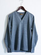 【送料無料】FREEWHEELERS(フリーホイーラーズ)〜VNECKSWEATERGRAY〜