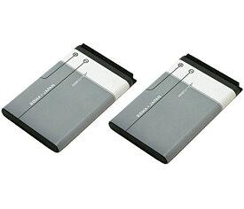 【2個セット】NOKIA ノキア BL-5C 互換 バッテリー