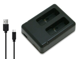 GoPro ゴープロ AADBD-001 / AJDBD-001 互換 USB 充電器