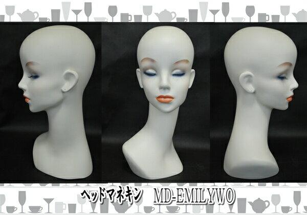 女性 マネキンヘッド ホワイトオフ ピアス穴 ウィッグ アクセサリ 美容 ヘアー 撮影 流行 ファッション ヤング レディス