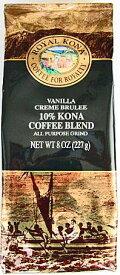 ロイヤルコナコーヒー/バニラクリームブリュレ・粉タイプAD8oz(227g)