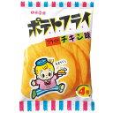 東豊製菓 ポテトフライ<フライドチキン味> 11g(4枚)×20袋 【1袋あたり34円】