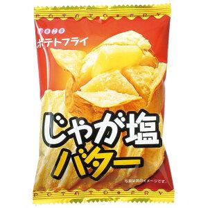 東豊製菓 ポテトフライ<じゃが塩バター味> 11g(4枚)×20袋×4箱
