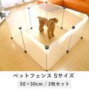 ペットフェンス S 2枚セット tsk | ペット 猫 ゲージ 犬 ペット用品