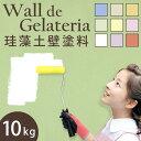 ウォール・デ・ジェラテリア 10kg tsk | 塗装 ペイント DIY 左官 壁紙 リフォームペイント 部屋