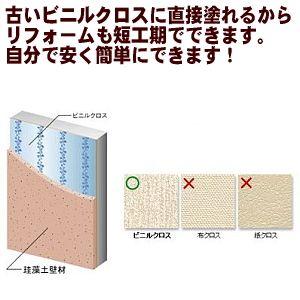 珪藻土壁材面積4坪/畳8枚分15.2kgまとめてお買い得な4袋セット5%オフ(自分で塗れる珪藻土の塗り壁DIYリフォーム)(A260-SET)