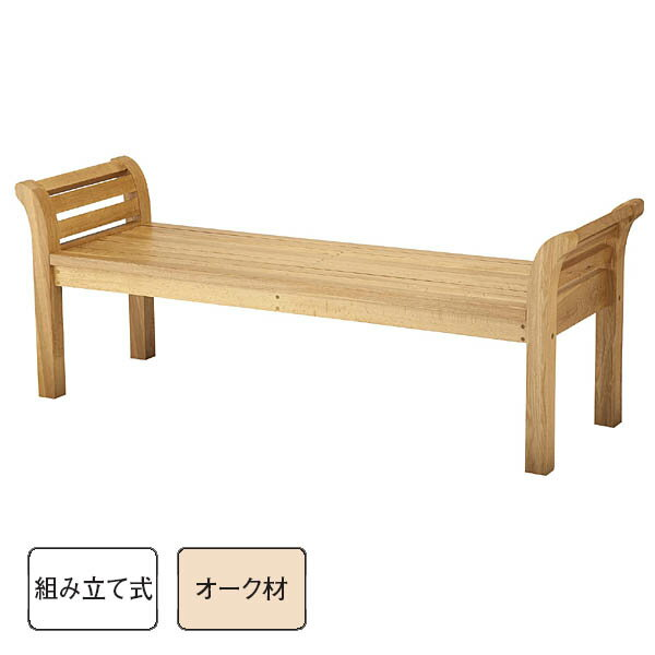 Indoor For Bench Oak Wood Bench RYB 81L WN (SY 169)