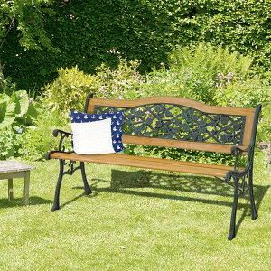 木製 ベンチ | ガーデンベンチ ガーデニング ガーデン 外用 屋外ベンチ ベランダ ガーデンチェア ガーデンファニチャー ウッドチェア ガーデン家具 パークベンチ 庭 ウッドベンチ チェア チ