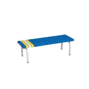 樹脂座面ベンチ 120cm 業務用 | ベランダ ガーデンチェア 庭 ガーデン ベンチ ガーデニング 屋外ベンチ チェア チェアー ガーデンベンチ テラス バルコニー 長椅子 プール プールサイド おしゃ