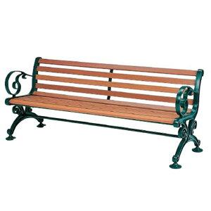 アンティーク ベンチ肘付 155cm 業務用 | ベランダ ガーデンチェア 庭 ガーデン ガーデニング 屋外ベンチ チェア チェアー ガーデンベンチ 椅子 テラス ガーデン家具 アンティーク バルコニー