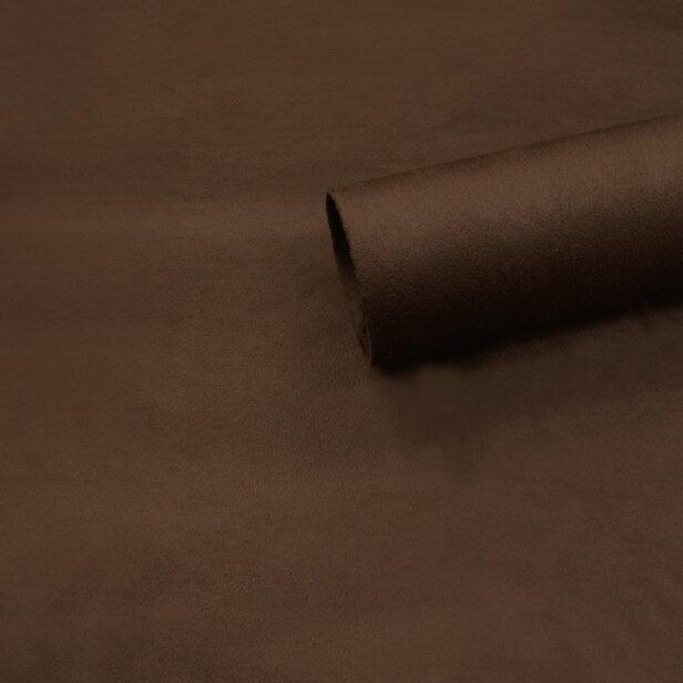 【ノリ付き♪高級スエード調生地シート 単色 2-17ブラウン 幅約145cm×1m】カッティングシート アルカンターラ調 内装 車内 張替え 壁紙 シール 送料無料 RoyalQueen
