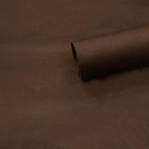 【ノリ付き♪スエード調生地シート 単色 2-17ブラウン 幅約145cm×2m】カッティングシート アルカンターラ調 内装 車内 張替え 壁紙 シール 送料無料 RoyalQueen