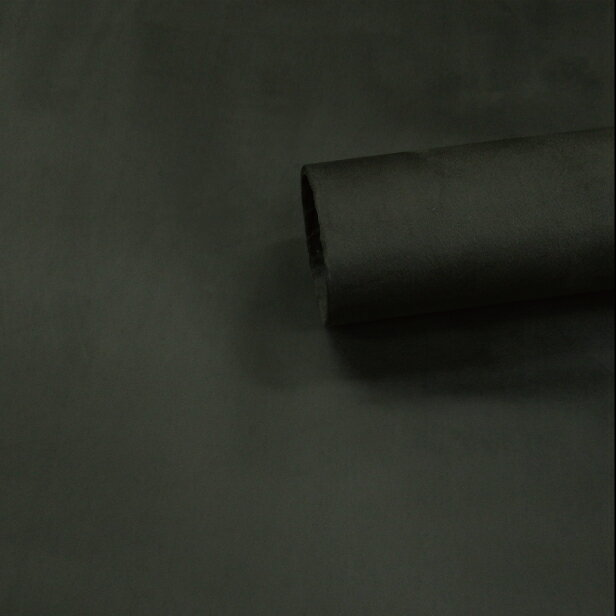 【ノリ付き♪スエード調生地シート 単色 2-10カーキ 幅約145cm×1m】カッティングシート アルカンターラ調 内装 車内 張替え 壁紙 シール 送料無料 RoyalQueen
