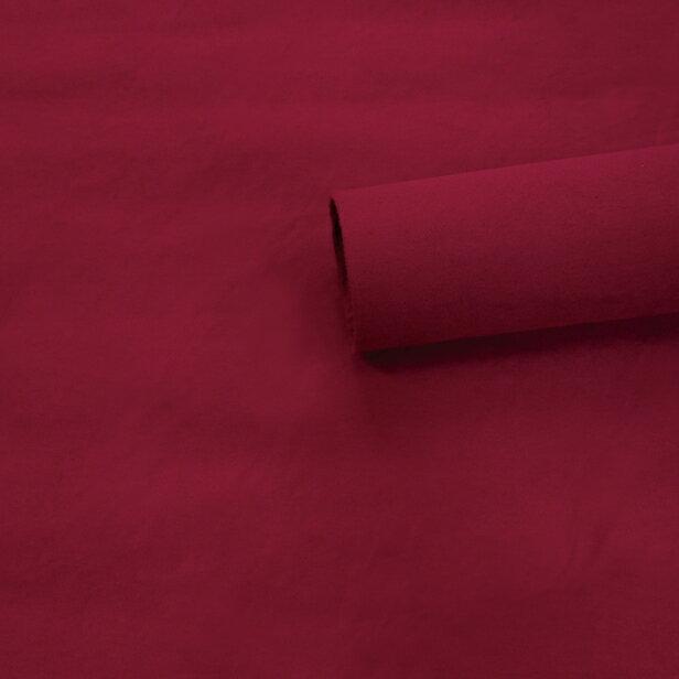 【ノリ付き♪スエード調生地シート 単色 1-11ダークレッド 幅約145cm×1m】カッティングシート アルカンターラ調 内装 車内 張替え 壁紙 シール 送料無料 RoyalQueen