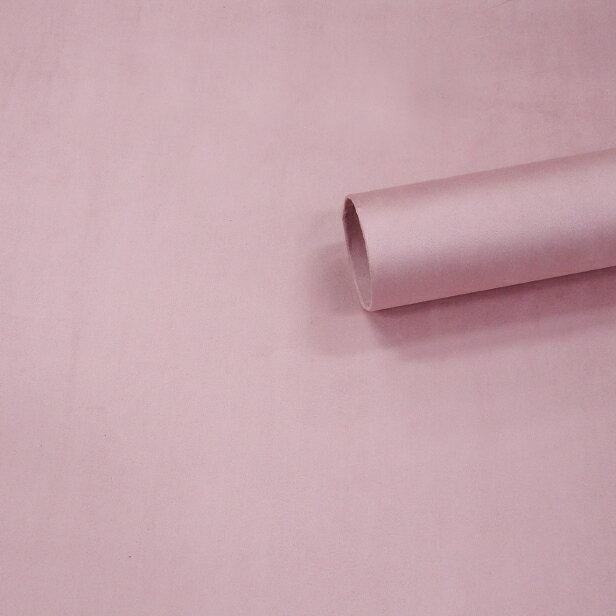 【ノリ付き♪高級スエード調生地シート 単色 2-2スモーキーピンク 幅約145cm×2m】カッティングシート アルカンターラ調 内装 車内 張替え 壁紙 シール 送料無料 RoyalQueen