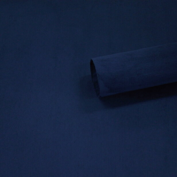 【ノリ付き♪スエード調生地シート 単色 1-14ネイビー 幅約145cm×1m】カッティングシート アルカンターラ調 内装 車内 張替え 壁紙 シール 送料無料 RoyalQueen