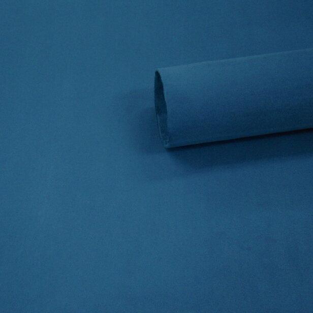 【ノリ付き♪高級スエード調生地シート 単色 1-9エメラルドブルー 幅約145cm×1m】カッティングシート アルカンターラ調 内装 車内 張替え 壁紙 シール 送料無料 RoyalQueen