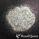 【大容量 ラメ フレーク シルバーA 0.6mm 100g B100】塗装 塗料 DM便送料無料 RoyalQueen