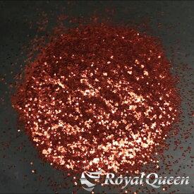 【大容量 ラメ フレーク レッドカッパー 1.0mm 100g B308】塗装 塗料 DM便送料無料 RoyalQueen
