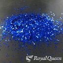 【大容量 ラメ フレーク ブルー 1.0mm 100g B705】塗装 塗料 クリックポスト送料無料 RoyalQueen