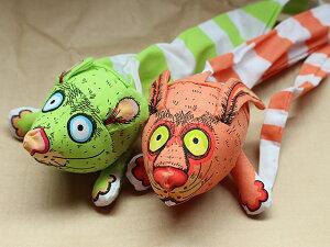 猫のおもちゃ/またたびの香り入りねこじゃらし/ペット用/おもちゃ【グリーンorオレンジ】ネコじゃらし/猫じゃらし