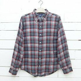 Ralph Lauren ラルフローレン BLAIRE チェック柄 ボタンダウンシャツ メンズ Sサイズ相当 / lsshirt100sa / 【中古】