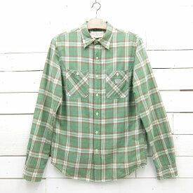 Denim & Supply デニム&サプライ ラルフローレン 長袖 ロングスリーブ チェックシャツ メンズ Mサイズ相当 / lsshirt21sa / 【中古】