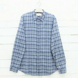 Denim & Supply デニム&サプライ ラルフローレン 長袖 チェックシャツ ネイビー系 メンズ XLサイズ / lsshirt33sa / 【中古】