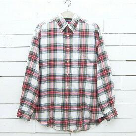 Tommy Hilfiger トミーヒルフィガー チェック柄 ボタンダウンシャツ メンズ XLサイズ相当 / lsshirt121sa / 【中古】