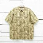 Woolrich ウールリッチ 魚柄 半袖 コットンシャツ 総柄 メンズ 2XLサイズ相当 / ssshirt141sa / 【中古】