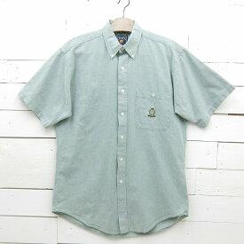 CHAPS RALPH LAUREN チャップス ラルフローレン 半袖 ボタンダウンシャツ メンズ Mサイズ相当 made in usa / ssshirt9sa / 【中古】