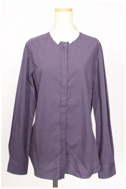 【新入荷!!】アクアスキュータム ドットシャツ[LSHO21142]【PP】【中古】【2点以上同時購入or5400円以上のご購入で送料無料】