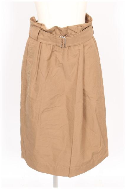【新入荷!!】ドレステリア ベルト付きウエストギャザースカート[LSKO43596]【PP】【中古】【2点以上同時購入or5400円以上のご購入で送料無料】