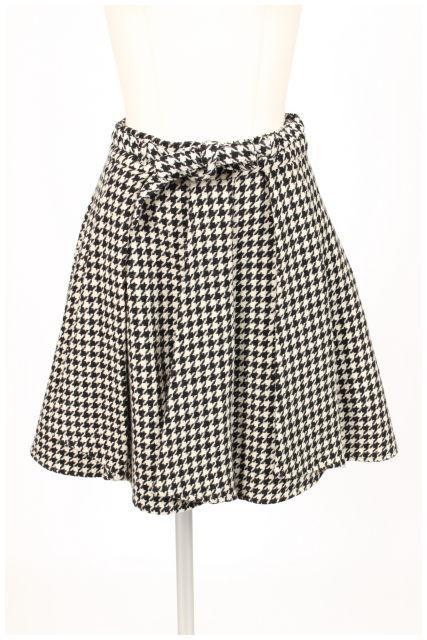 【11月17日に再値下げ!】Swingleスウィングル 千鳥格子スカート[LSKN60522]【FF】【中古】【2点以上同時購入or5400円以上のご購入で送料無料】