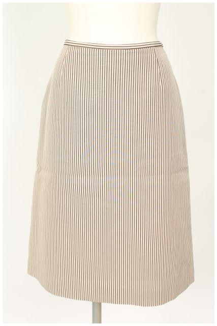 【入荷時より価格値下げ!】ジバンシィGIVENCHY ストライプスカート[LSKO16908]【PP】【中古】【2点以上同時購入or5400円以上のご購入で送料無料】