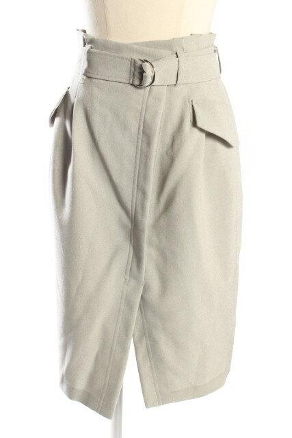 ココディール ベルト付きタイトスカート[LSKP58839]【PP】【中古】【5400円以上のご購入で送料無料】