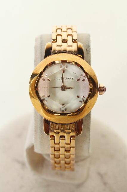 【6月14日に再値下げ!】ジルスチュアート SILDA001クリスタル腕時計[LWWO87705]【中古】【5400円以上のご購入で送料無料】