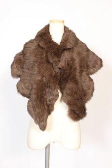 UNITED ARROWS rabbit fur tippet [LZCO85566]