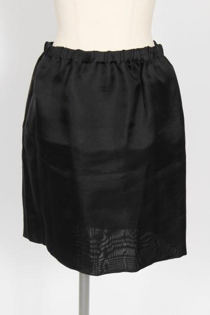 【新入荷!!】ミュウミュウmiumiu シルクスカート[LSKO56221]【PP】【中古】【2点以上同時購入or5400円以上のご購入で送料無料】
