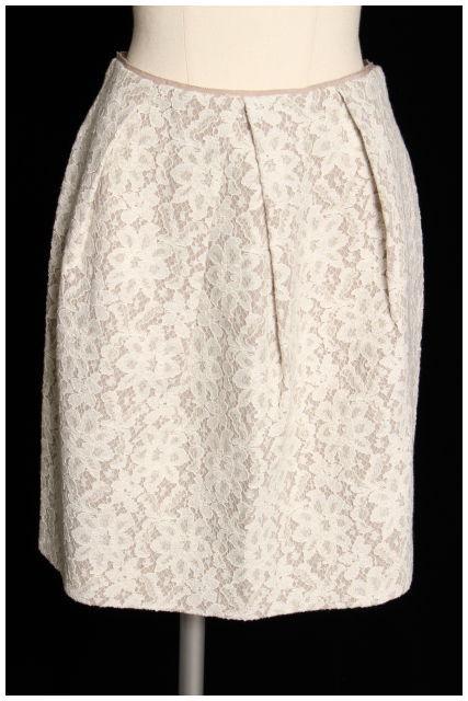 【入荷時より価格値下げ!】ロペROPE フラワーレーススカート[LSKO13688]【FF】【中古】【5400円以上のご購入で送料無料】