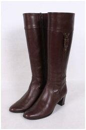 黛安娜DIANA旁邊皮帶設計長長筒靴[LFWO30072]